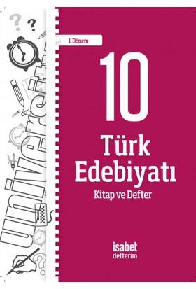 İsabet 10.Türk Edebiyatı Kitap-Defter