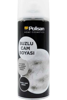 Polisan Sprey Buzlu Cam Efekti Boyası 400 Ml