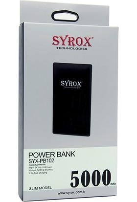 Syrox 5000 Mah Powerbank Taşınabilir Şarj
