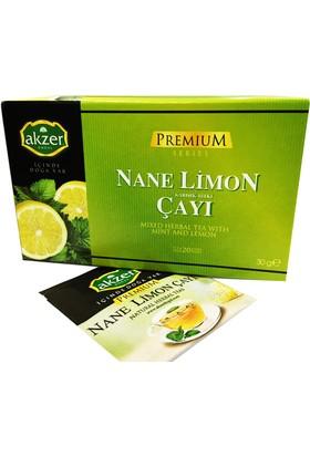 Akzer Nane Limon Bitki Çayı