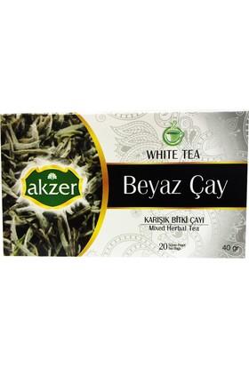 Akzer Beyaz Çay Bitki Çayı