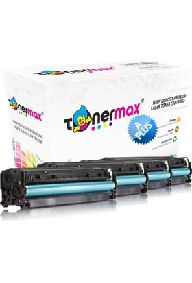 Toner Max® Canon Crg-718 / Mf724 / Mf728 / Mf729 / Lbp-7200 / Lbp-7210 / Lbp-7660 / Lbp-7680 / Mf-8330 / Mf-8340 / Mf-8350 Muadil Toneri - A Plus - 1 Set Cmyk