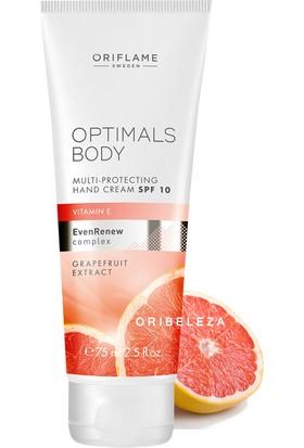 Oriflame Optimals Body Koruyucu El Kremi E Vitamin+Greyfurt Özlü El Kremi 75Ml