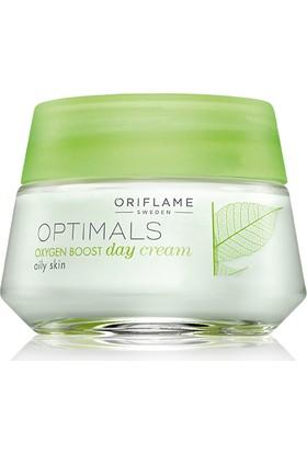 Oriflame Optimals Oxygen Boost Gündüz Kremi 50Ml Yağlı Ciltler İçin