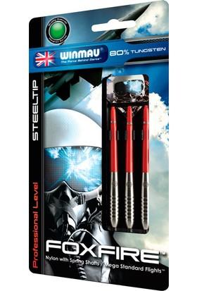 Winmau Foxfire 80% Tungsten Çelik Uçlu Dart Oku 23 Gr