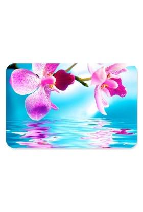 Fotografyabaskı Orkide Çiçeği Dikdörtgen Mouse Pad