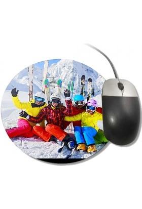 Fotografyabaskı Kayak Yuvarlak Mouse Pad