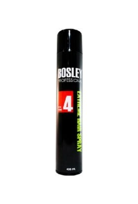 Bosley Professional Extra Strong 4 Siyah Saç Spreyi 400 Ml