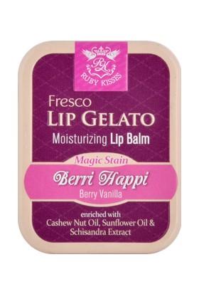 Ruby Kisses Fresco Lip Gelata Berri Happi Balm 16 Gr
