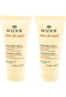 NUXE Reve De Miel Crème Mains et Ongles 50 ml - El Kremi ALANA 2. ÜRÜN HEDİYE