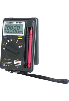 Proskit Mt-1506 Mini Cep Ölçü Aleti Dijital Auto Range Multimetre