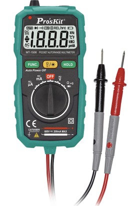 Proskit Mt-1508 Dijital Auto Range Multimetre