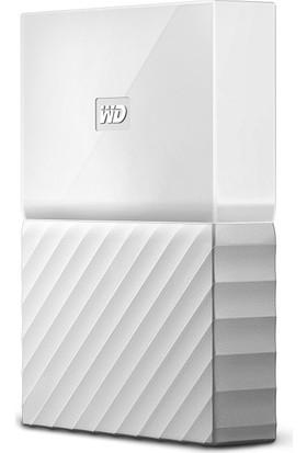 """WD My Passport 2TB2.5"""" USB 3.0 Beyaz Backup Taşınabilir Disk WDBYFT0020BWT"""