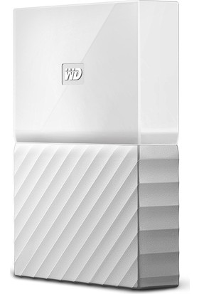 "WD My Passport 2TB2.5"" USB 3.0 Beyaz Backup Taşınabilir Disk WDBS4B0020BWT-WESN"