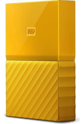 """WD My Passport 2TB2.5"""" USB 3.0 Sarı Taşınabilir Disk WDBS4B0020BYL-WESN"""