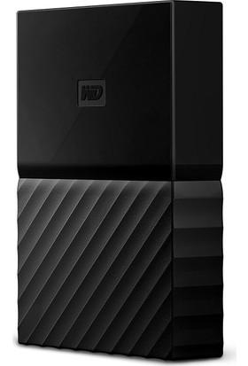 """WD My Passport 1TB2.5"""" USB 3.0 Siyah Taşınabilir Disk WDBYNN0010BBK"""