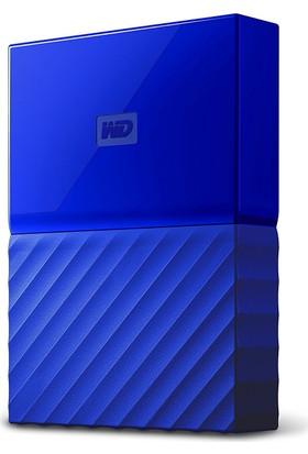 """WD My Passport 1TB2.5"""" USB 3.0 Mavi Taşınabilir Disk WDBYNN0010BBL"""
