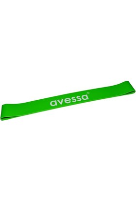 Avessa Latex Aerobik Band 1,3 Mm Orta Yeşil