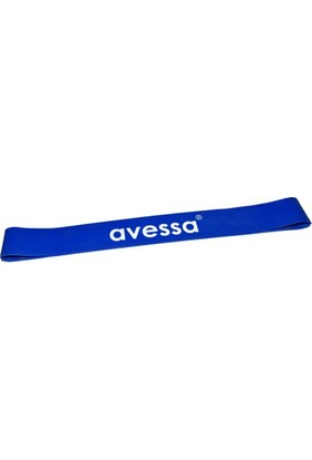 Avessa Latex Aerobik Band 1,5 Mm Mavi