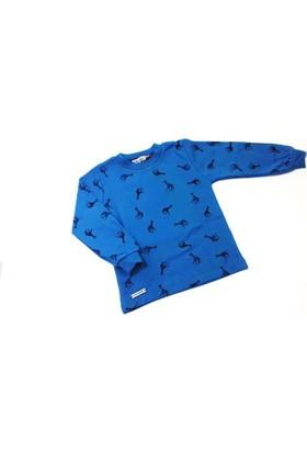 Haknur Zürafa Uzun Kollu Erkek Çocuk Tişörtü