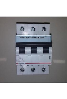Legrand Otomatik Sigorta 3X25 Amper K Otomat