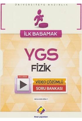 Final Yayınları İlk Basamak Ygs Fizik Video Çözümlü Soru Bankası - Abdülkadir Börklü