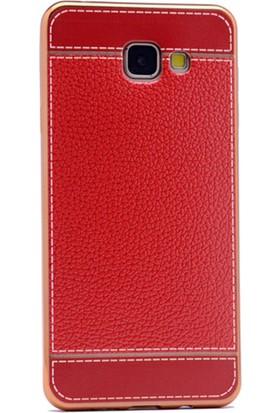 Gpack Samsung Galaxy A3 2016 Kılıf Lazer Deri Silikon