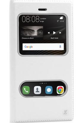 Gpack Huawei P9 Lite Kılıf Pencereli Dolce Mıknatıslı