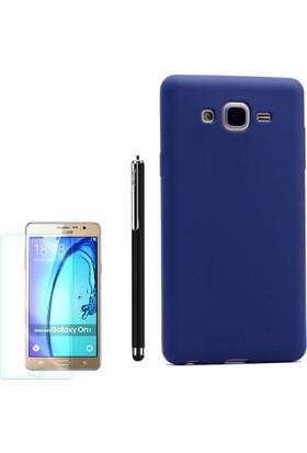 Gpack Samsung Galaxy On7 Kılıf Premier Silikon +Kalem+ Cam