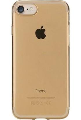 Kılıfshop Apple iPhone 7 Silikon Kılıf Gold