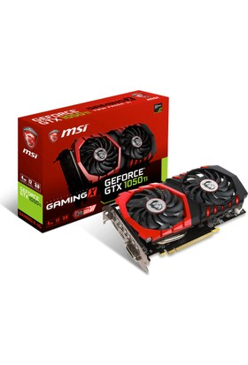 MSI NVIDIA GeForce GTX 1050 TI Gaming X 4G 4GB 128 bit GDDR5 DX(12) PCI-E 3.0 Ekran Kartı (GTX 1050 TI Gaming X 4G)