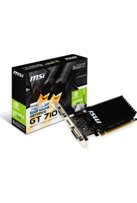 MSI NVIDIA GeForce GT 710 2GD3H LP 2GB 64 bit DDR3 DX(12) PCI-E 3.0 Ekran Kartı (GT 710 2GD3H LP)