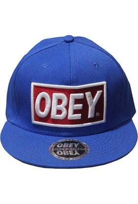 Mitchell & Ness Obey Mavi Snapback Cap 2