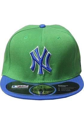 Mitchell & Ness Ny Yeşil-Mavi Snapback Cap