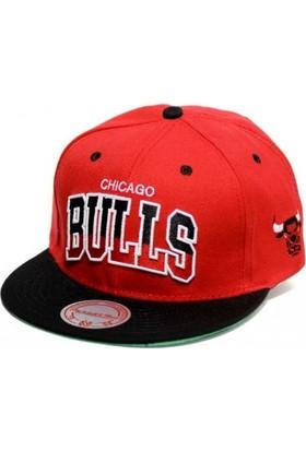Mitchell & Ness Chicago Bulls Kırmızı Snapback Cap