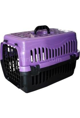 Kedi Köpek Taşıma Çantası 47x32x32cm Mor