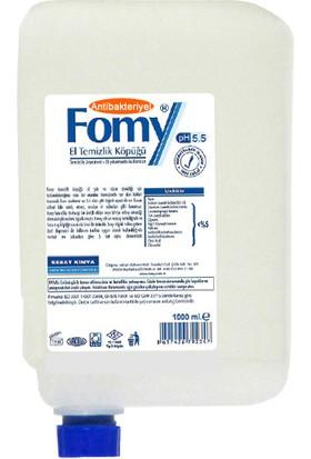 Fomy 1000 ml Antibakteriyel Köpük Sabun Kartuş 12 li Eko Paket