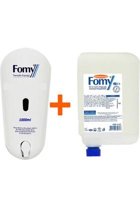 Fomy 1000 ml Antibakteriyel Köpük Sabun Kartuş + Dispenser