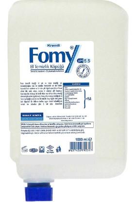 Fomy 1000 ml Standart Köpük Sabun Kartuş 6 lı Eko Paket