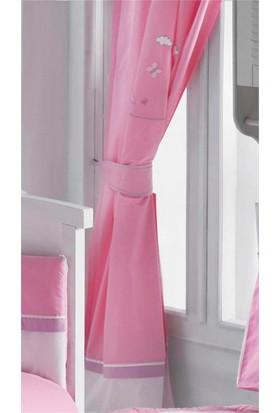 DinoBoo Little Bebek Pink Perde