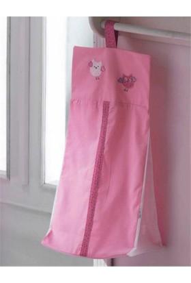 DinoBoo Lovely Animals Pink Çamaşır Torbası