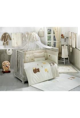 Kidboo Honey Bear 60x120 Cm Bebek Uyku Seti