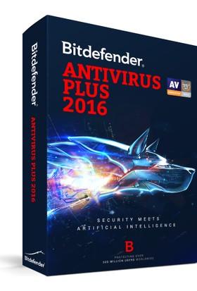 Bitdefender Antivirüs Plus 2016 – 3 Kullanıcı