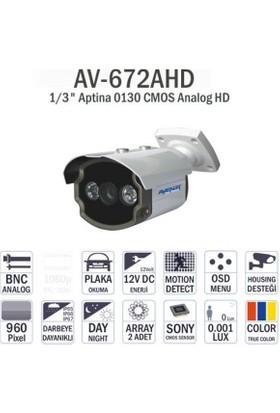 Avenir Av-672Ahd 960P Bullet Dış Mekan Kamera
