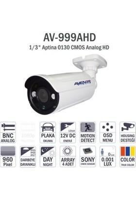 Avenir Av-999Ahd 960P Bullet Dış Mekan Kamera