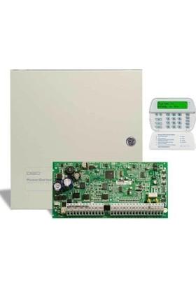 Dsc Pc 1832 Alarm Paneli + Büyük Metal Kabinet + Pk 5500 Şifre Paneli