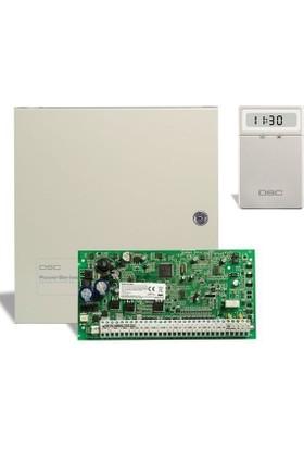 Dsc Pc 1864 Alarm Paneli + Büyük Metal Kabinet + Lcd 5511 Şifre Paneli