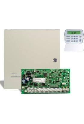 Dsc Pc 1864 Alarm Paneli + Büyük Metal Kabinet + Pk 5501 Şifre Paneli