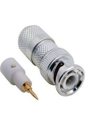 Microtec Bnc Konnektör Gümüş 100Lü Paket