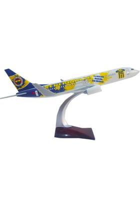 Fenerbahçe Lisanslı Büyük Boy Model Maket Uçak